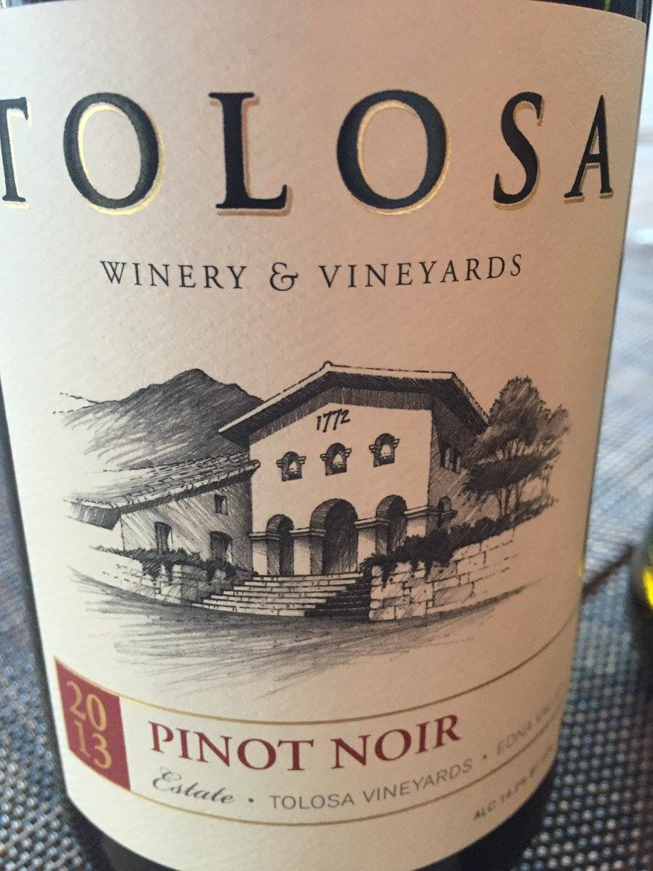Tolosa – Pinot Noir Estate 2013 – Edna Valley