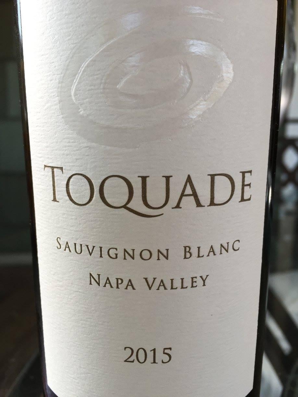 Toquade – Sauvignon blanc 2015 – Napa Valley