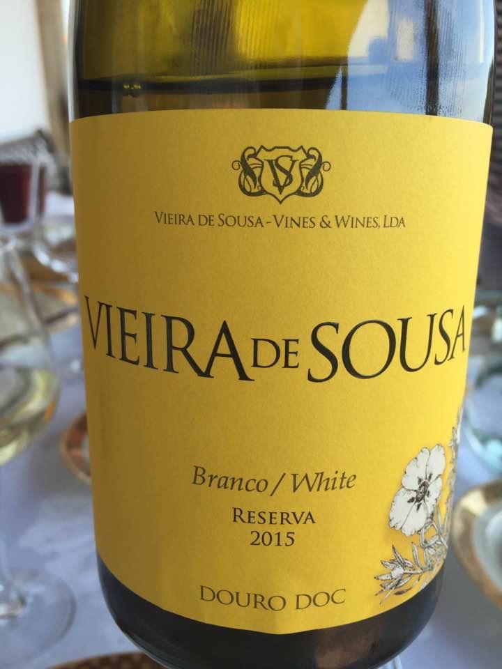 Vieira de Sousa – Branco / White Reserva 2015 – Douro