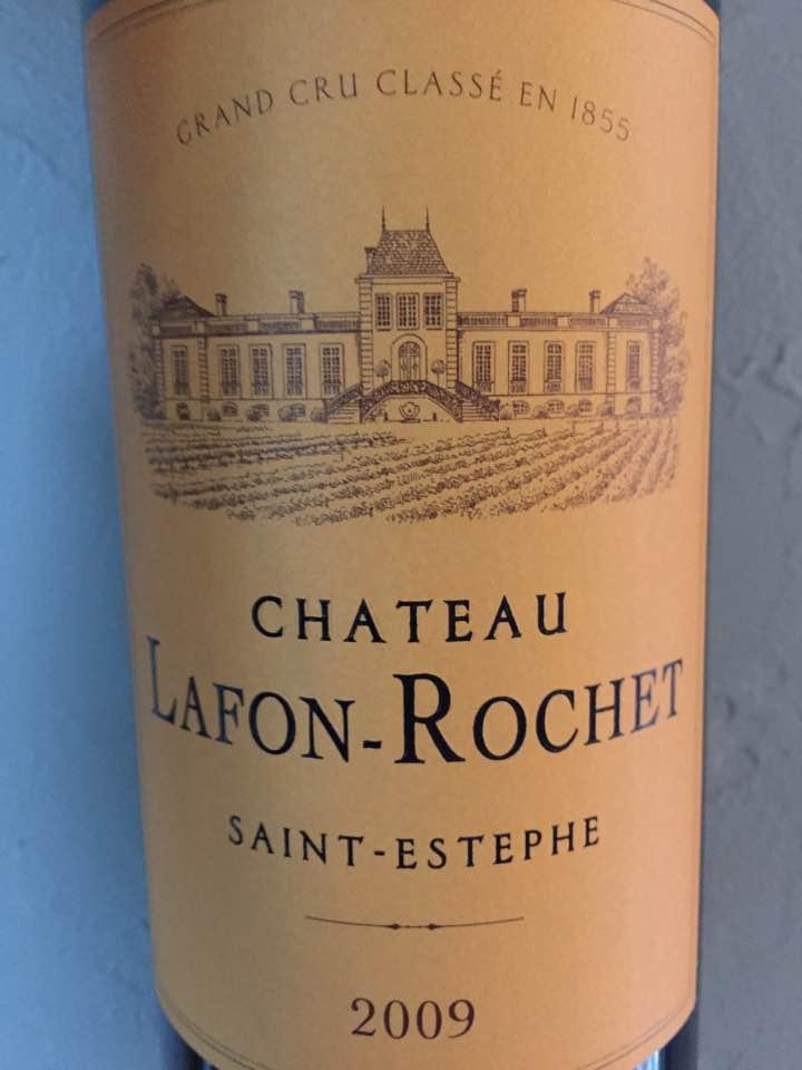Château Lafon-Rochet 2009 – Saint-Estèphe, 4ème Grand Cru Classé