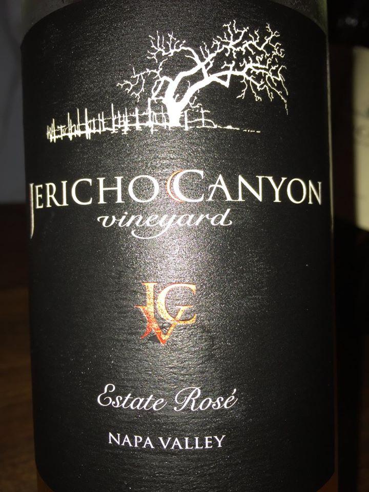 Jericho Canyon Vineyard – Estate Rosé 2015 – Napa Valley