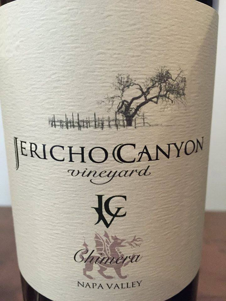Jericho Canyon Vineyard – Chimera 2014 – Napa Valley