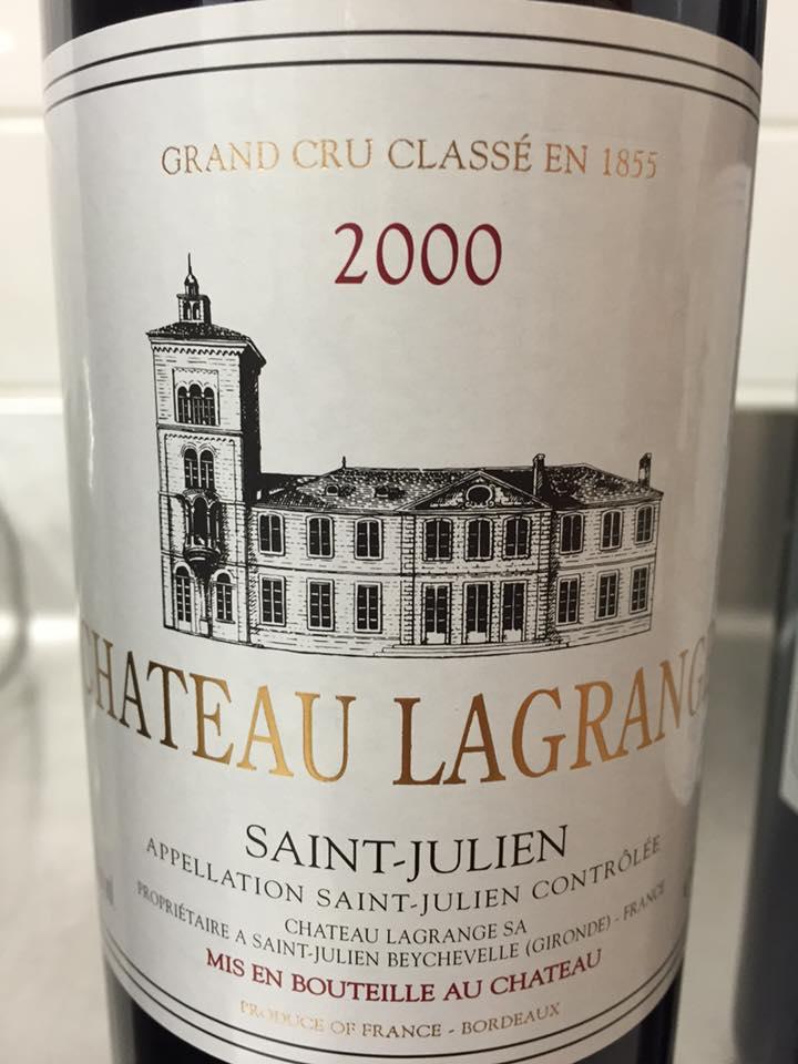 Château Lagrange 2000 – Saint-Julien, 3ème Grand Cru Classé