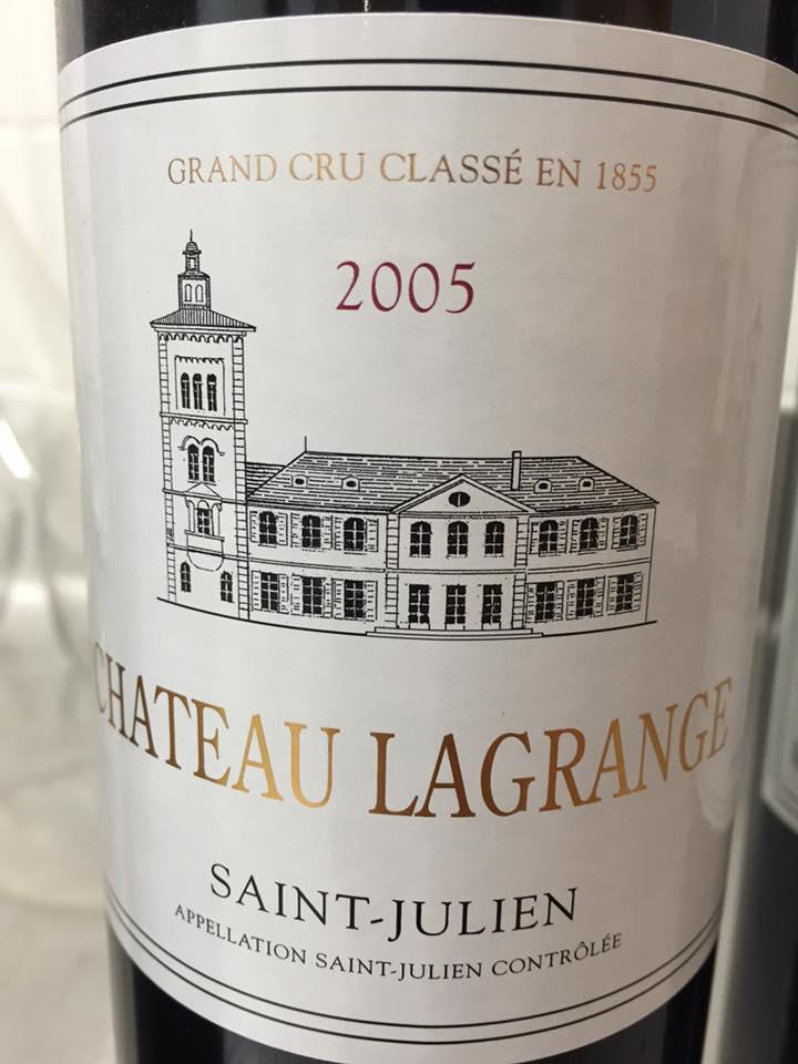 Château Lagrange 2005 – Saint-Julien, 3ème Grand Cru Classé