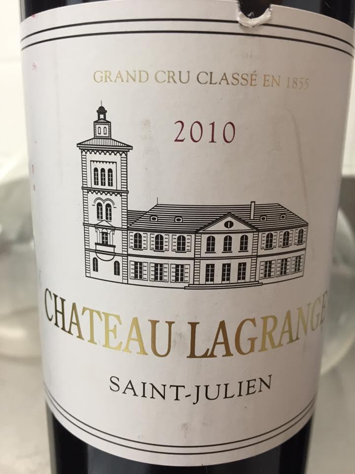 Château Lagrange 2010 – Saint-Julien, 3ème Grand Cru Classé