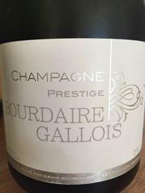 Champagne Bourdaire Gallois – Prestige – Brut