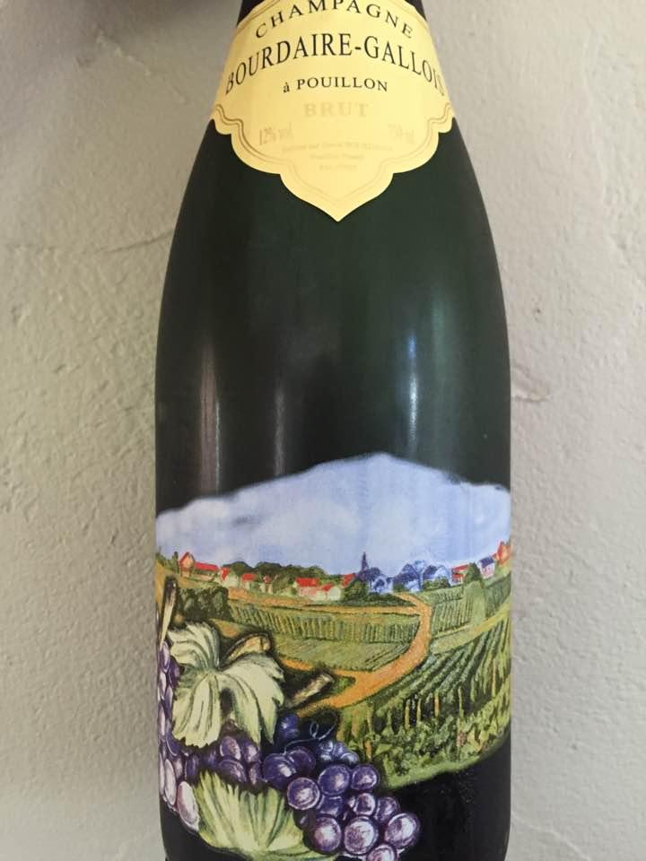 Champagne Bourdaire Gallois – Réserve – Brut