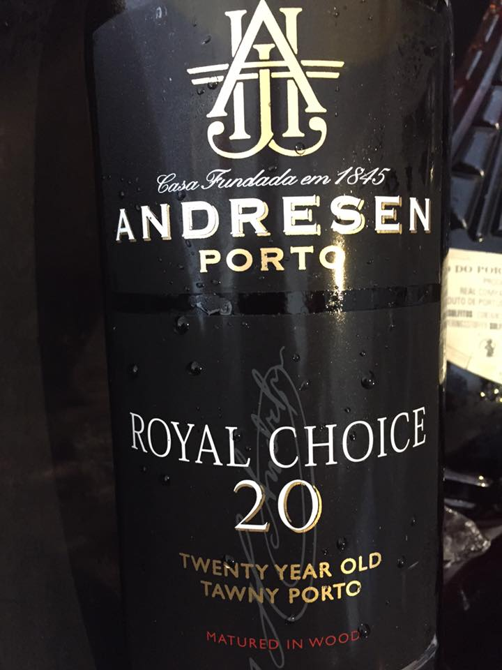 J. H. Andresen – Royal Choice – 20 Year Old Tawny Port
