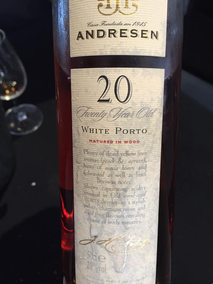J.H. Andresen – 20 Years Old – White Port