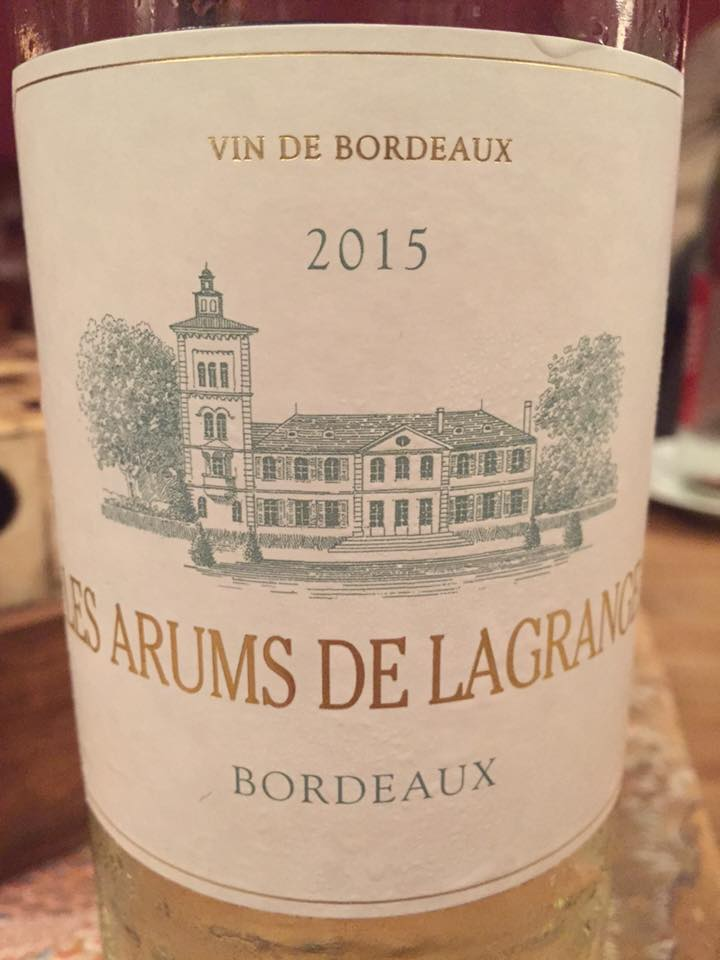 Les Arums de Lagrange 2015 – Bordeaux
