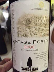 Sandeman 2000 – Vintage Porto