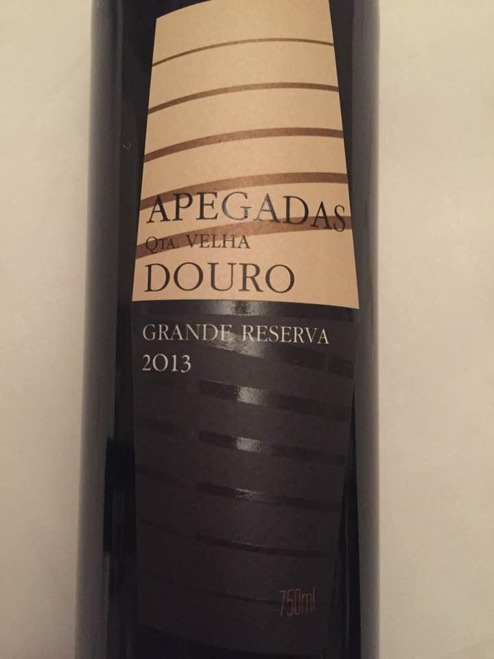 Apegadas – Quinta Velha 2013 – Douro