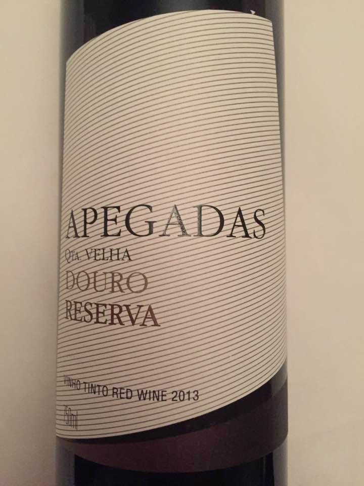 Apegadas – Quinta Velha – Grande Reserva 2013 – Douro