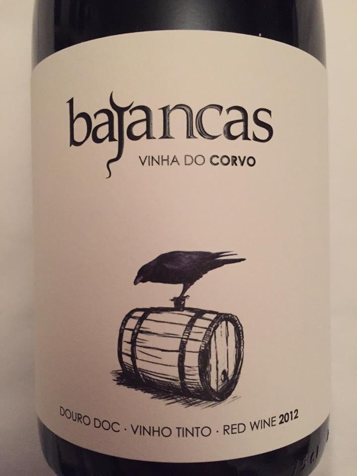 Bajancas – Vinha Do Corvo 2012 – Douro