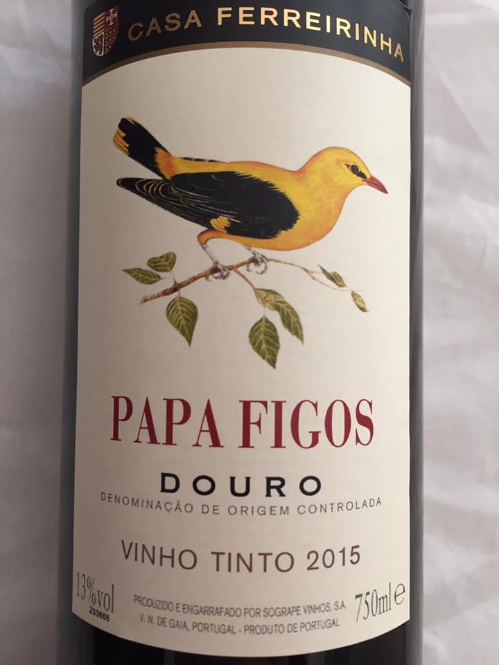 Casa Ferreirinha – Papa Figos 2015 – Douro
