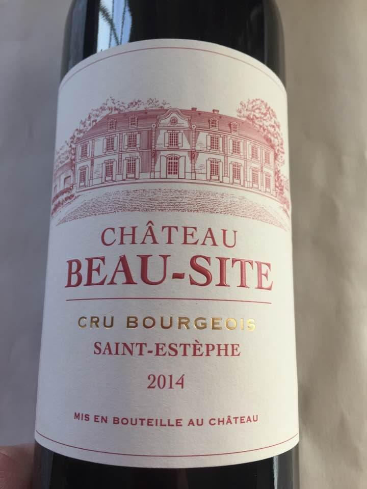 Château Beau-Site 2014 – Saint-Estèphe – Cru Bourgeois