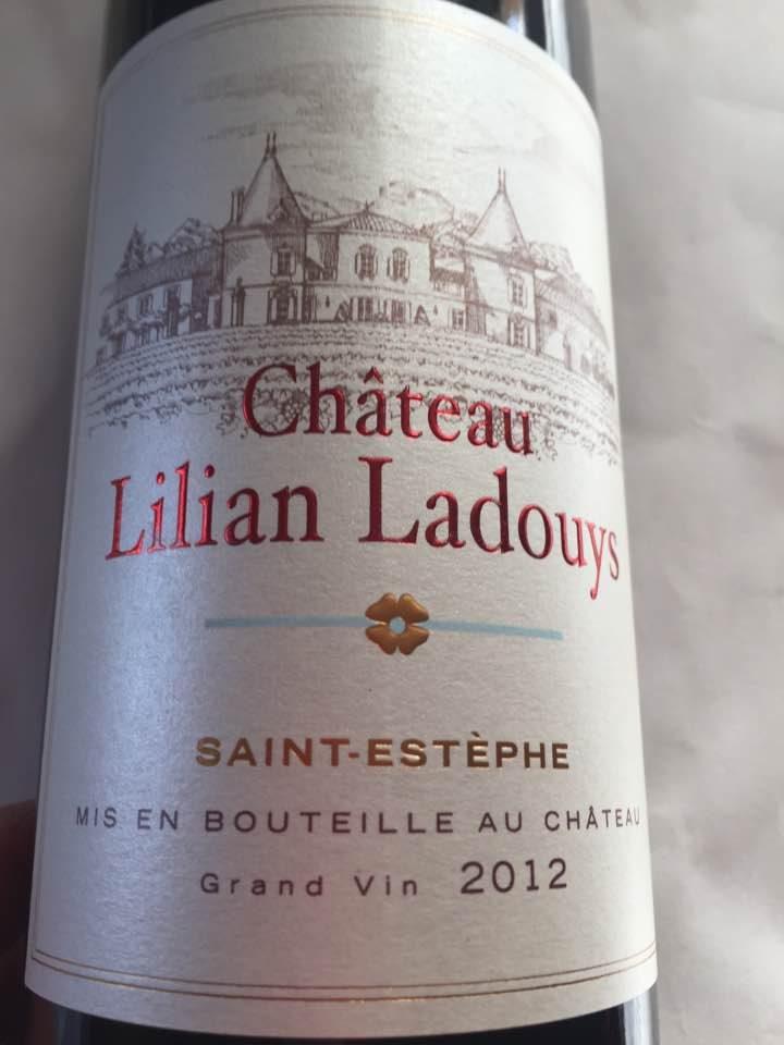 Chateau Lilian Ladouys 2012 – Saint-Estephe – Cru Bourgeois
