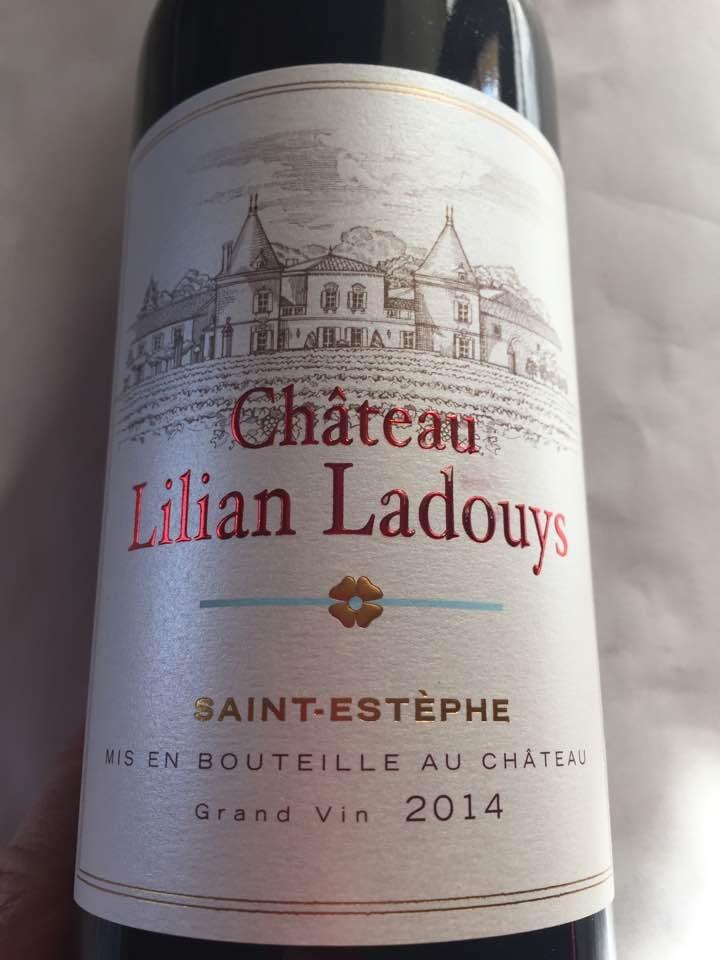 Chateau Lilian Ladouys 2014 – Saint-Estephe – Cru Bourgeois