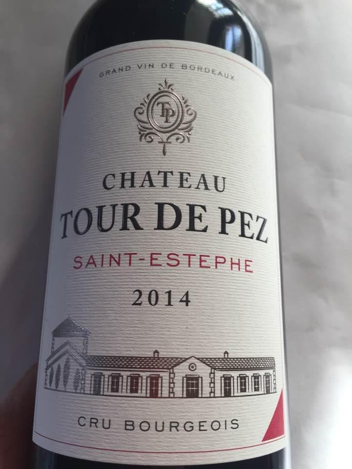 Château Tour de Pez 2014 – Saint-Estèphe – Cru Bourgeois