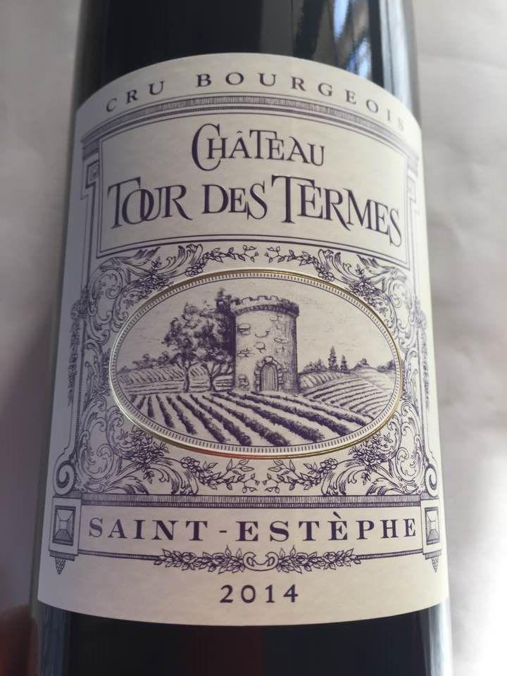 Château Tour des Termes 2014 – Saint-Estèphe – Cru Bourgeois