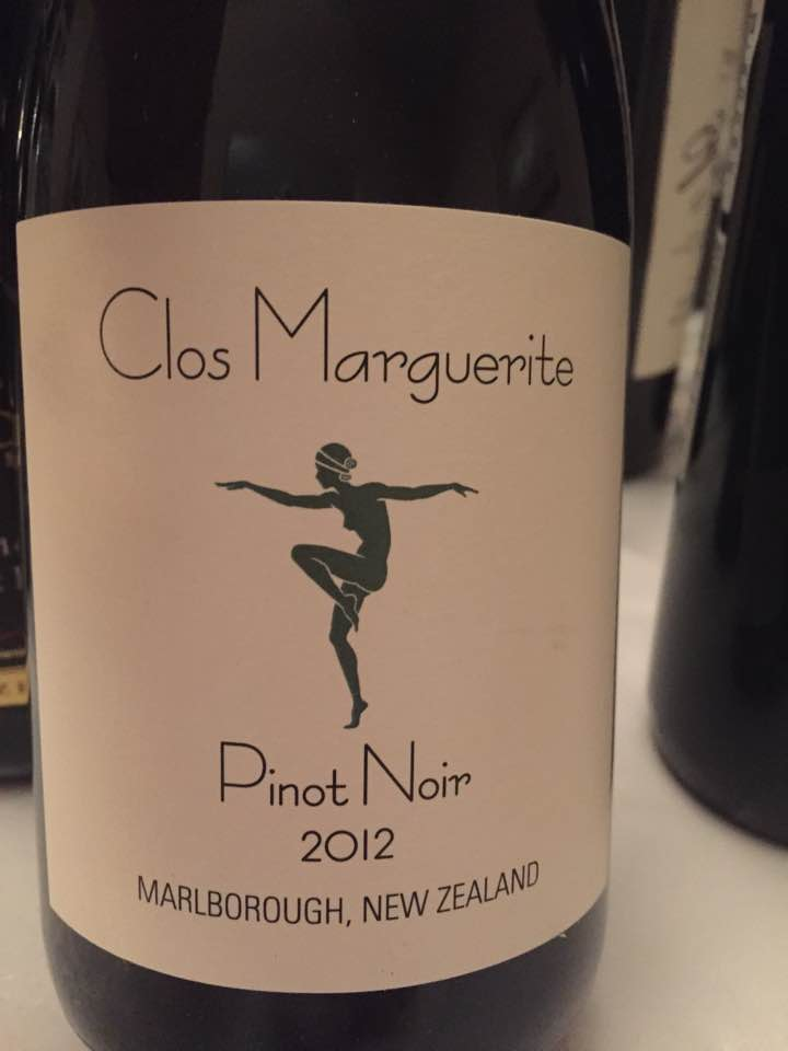 Clos Marguerite – Pinot Noir 2012 – Marlborough – New Zealand