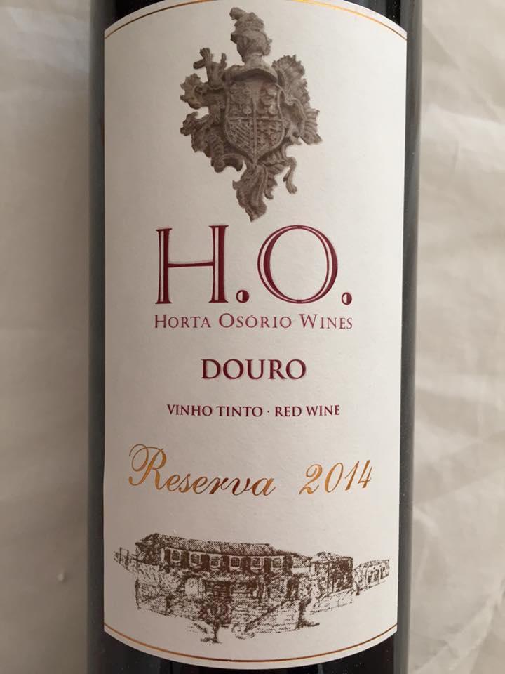 Horta Osorio Wines – Reserva 2014 – Douro
