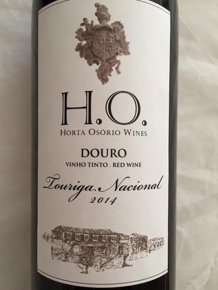 Horta Osorio Wines – Touriga Nacional 2014 – Douro