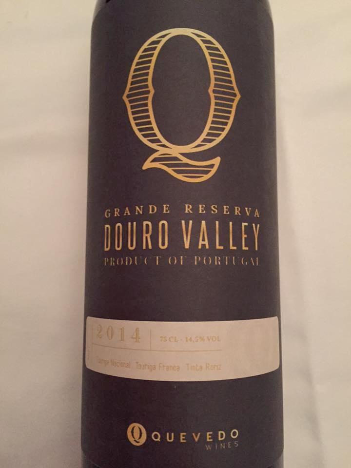 Quevedo Wines – Grande Reserva 2014 – Douro Valley