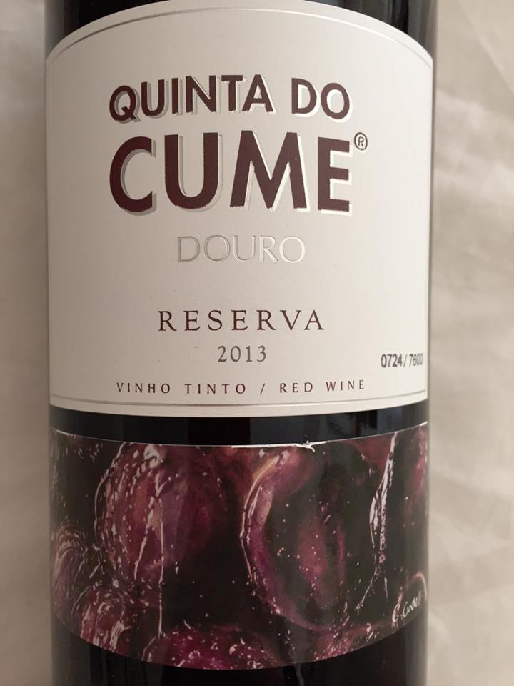 Quinta do Cume – reserva 2013 – Douro