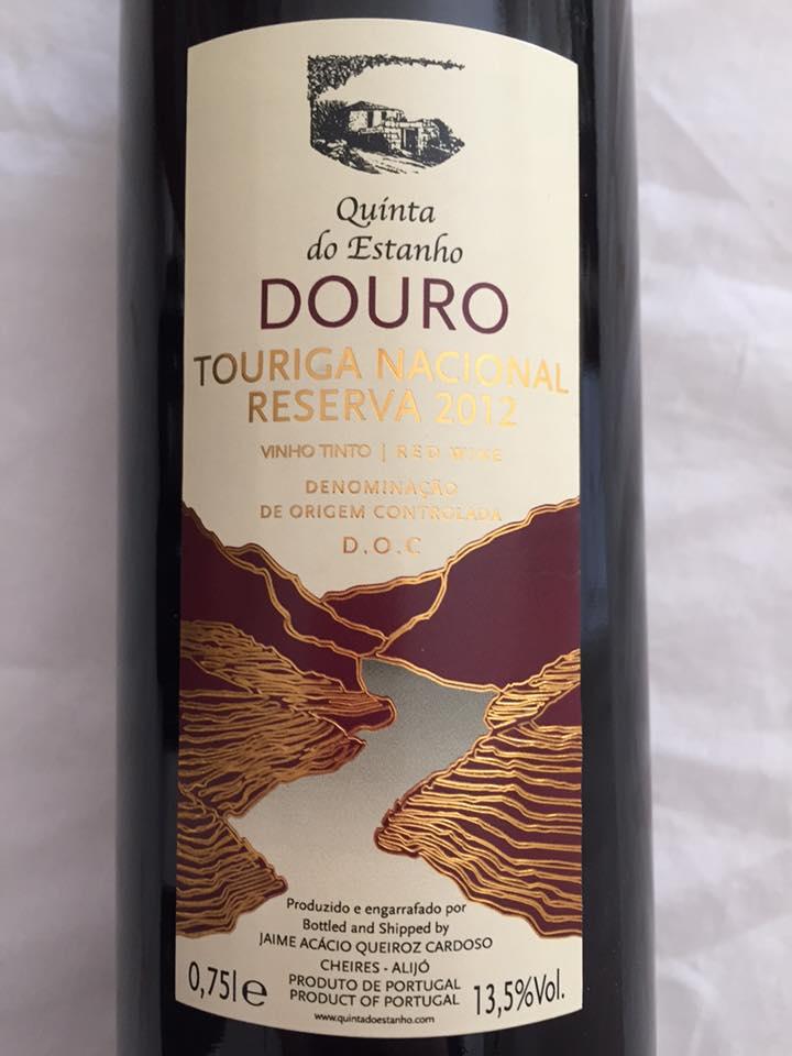 Quinta do Estanho – Touriga nacional Reserva 2012 – Douro