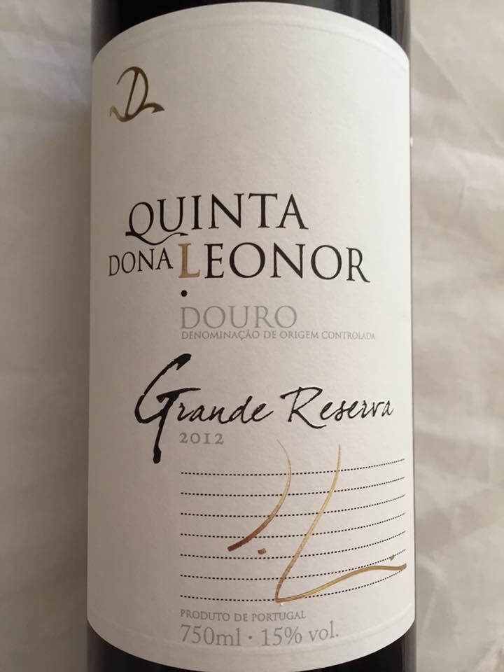 Quinta dona Leonor – Grande Reserva 2012 – Douro