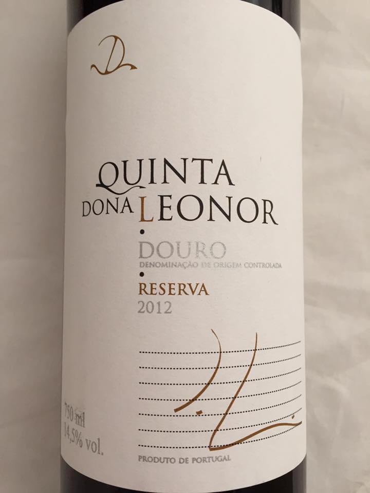 Quinta dona Leonor – Reserva 2012 – Douro