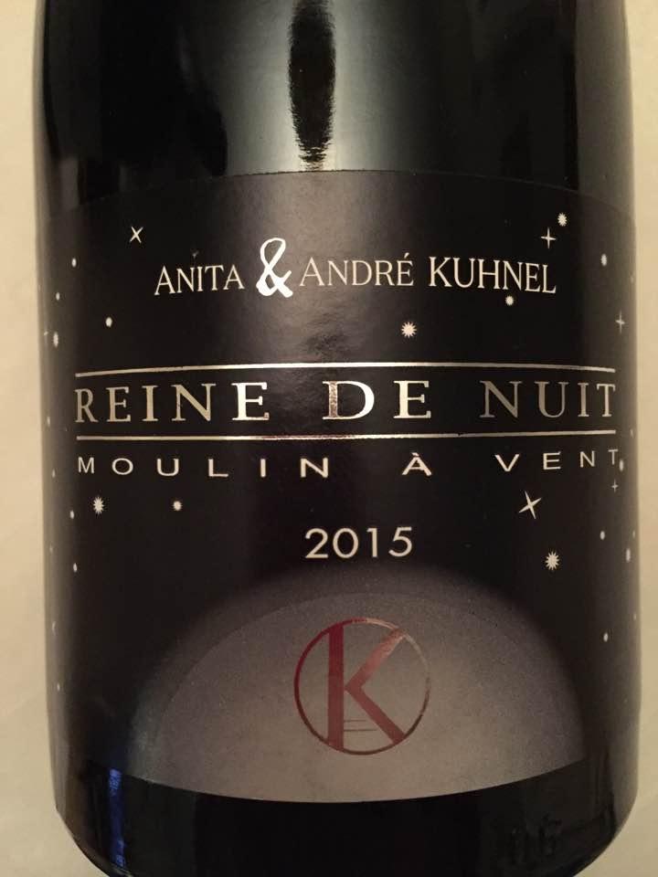 Anita & André Kuhnel – Reine de Nuit 2015 – Moulin-à-Vent