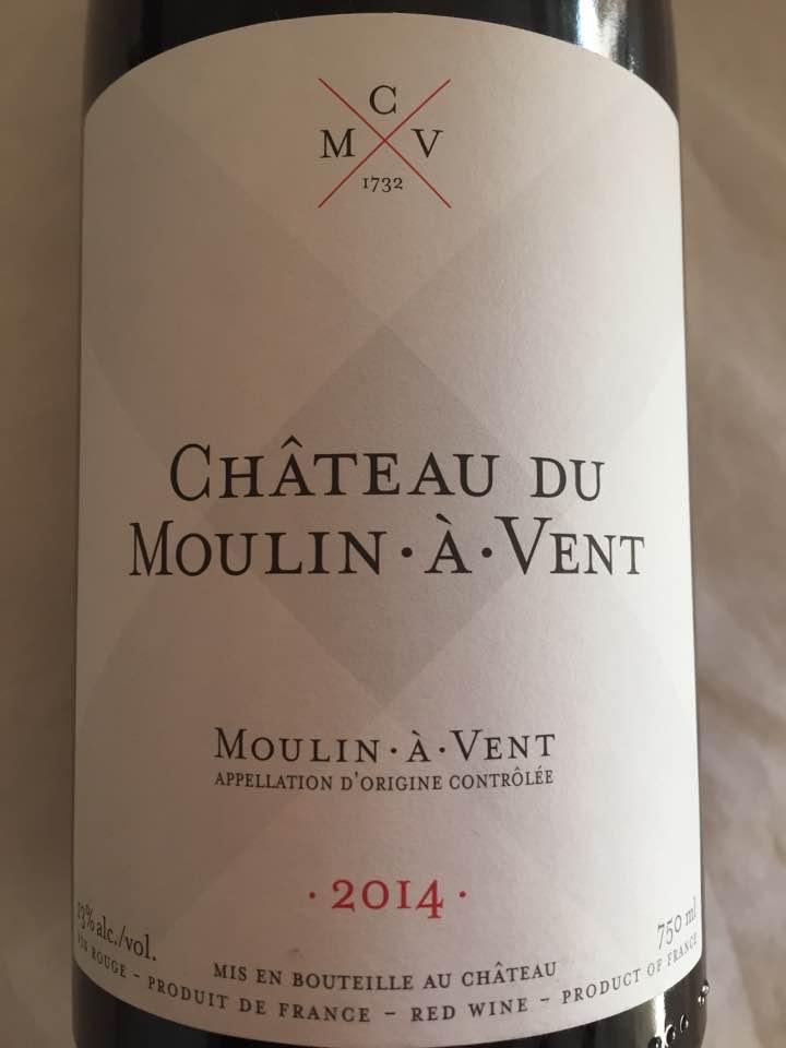 Château du Moulin-à-Vent 2014 – Moulin-à-Vent