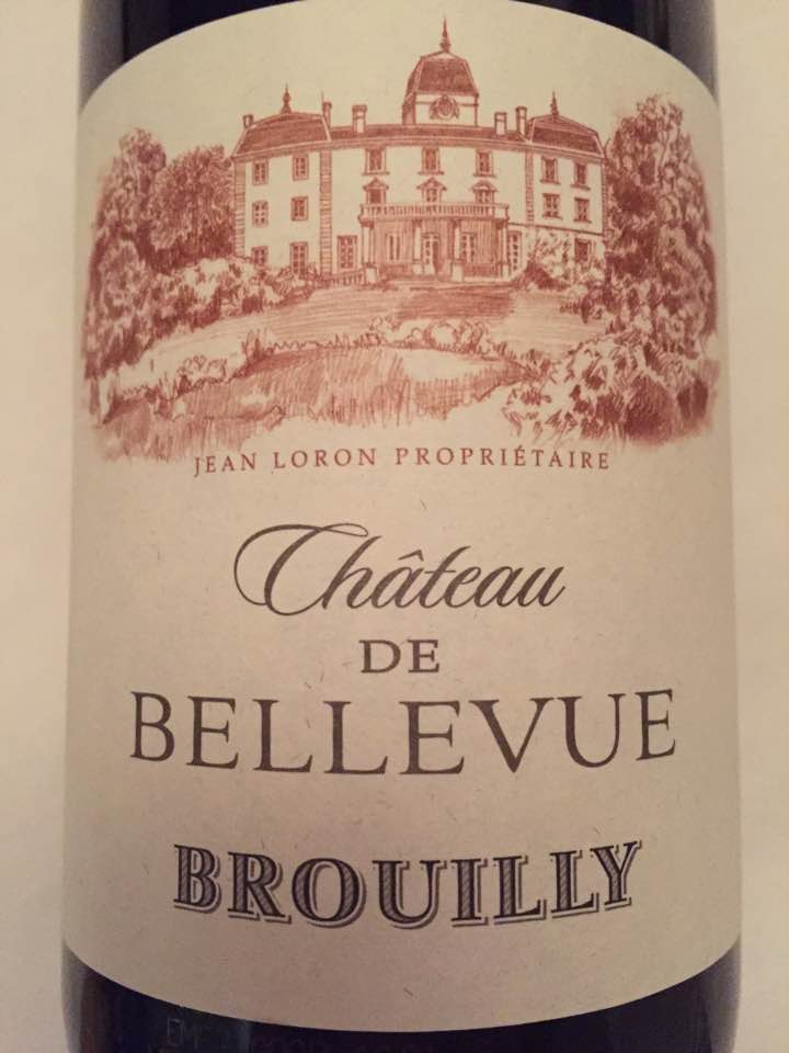 Château de Bellevue 2015 – Brouilly