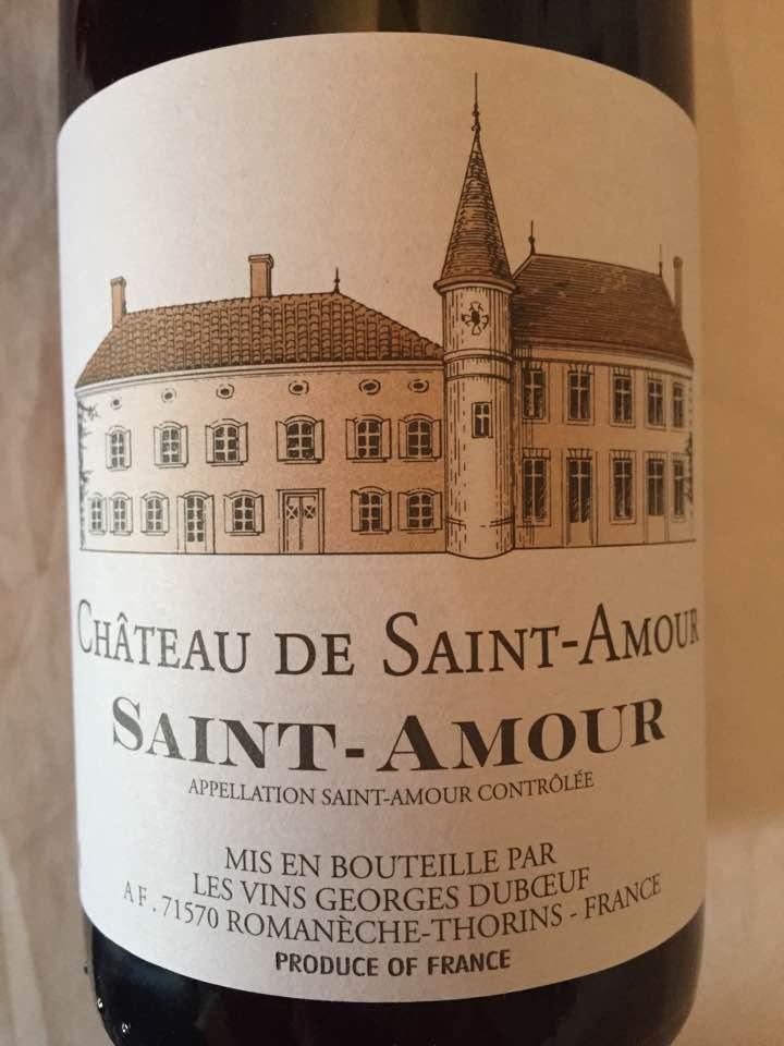 Château de Saint-Amour 2015 – Saint-Amour