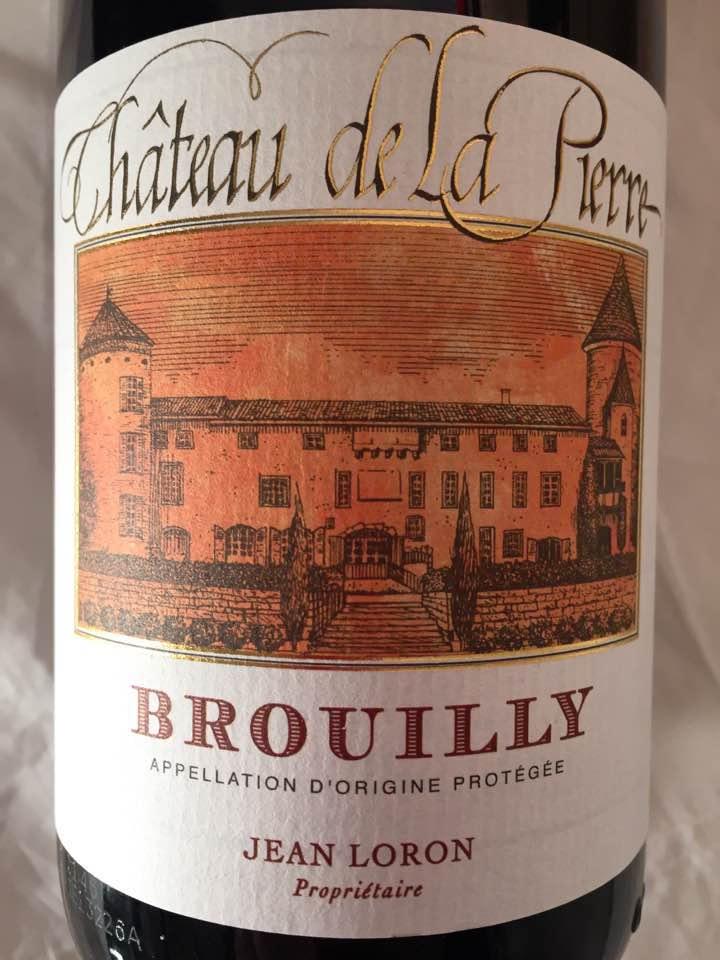 Château de la Pierre 2015 – Brouilly