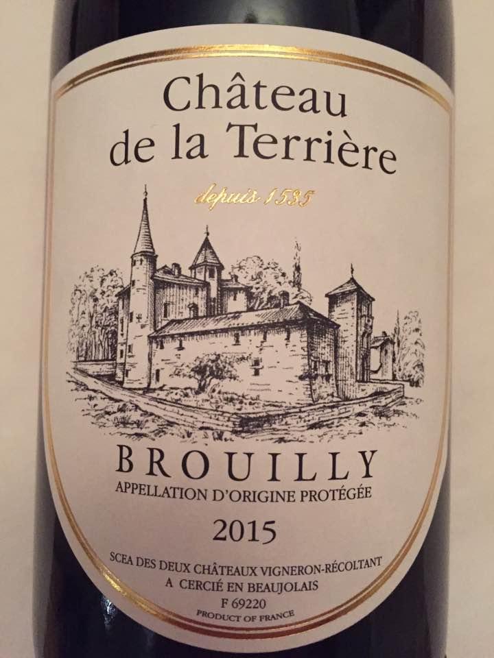 Château de la Terrière 2015 – Brouilly