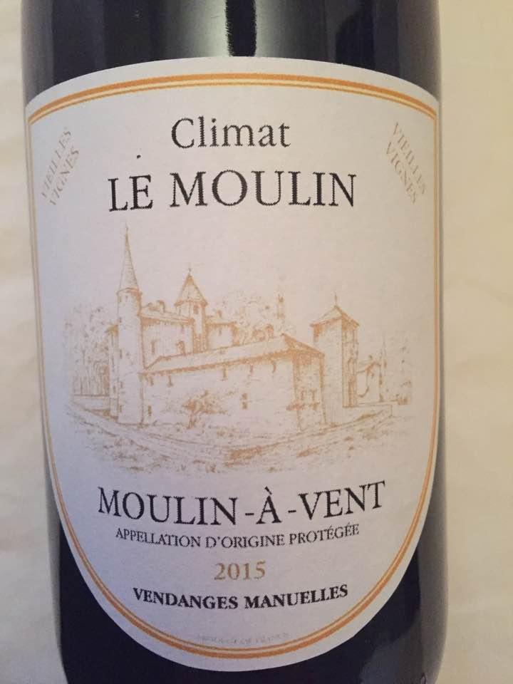 Château de la Terrière – Climat Le Moulin 2015 – Moulin-à-Vent