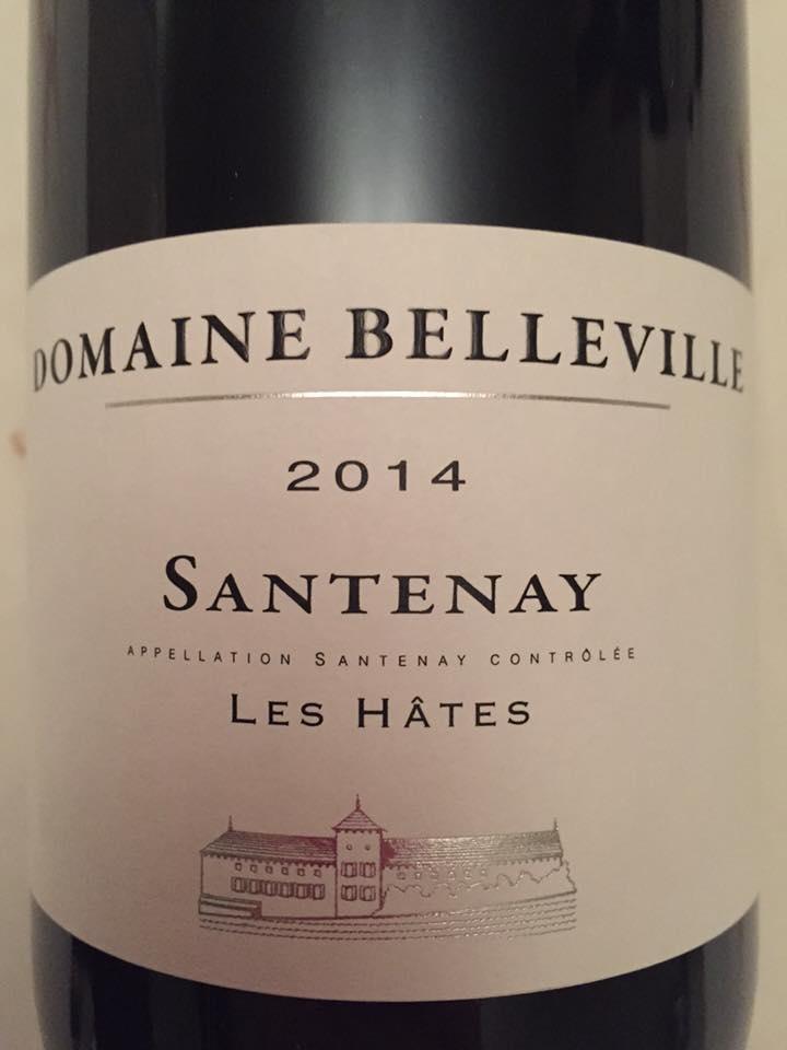 Domaine Belleville – Les Hâtes 2014 – Santenay