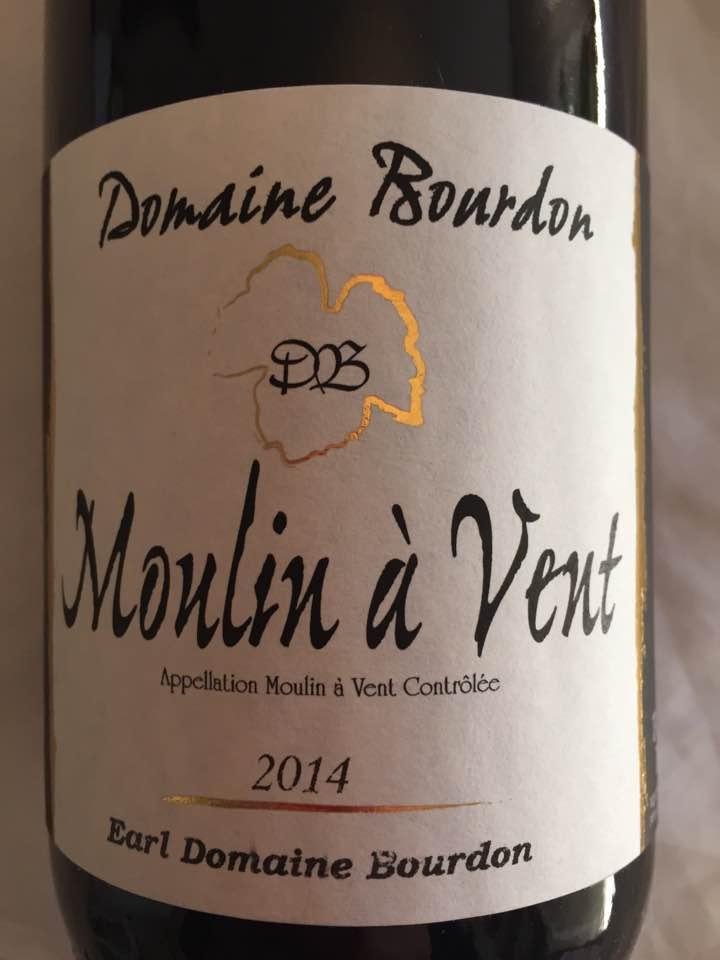 Domaine Bourdon 2014 – Moulin-à-Vent