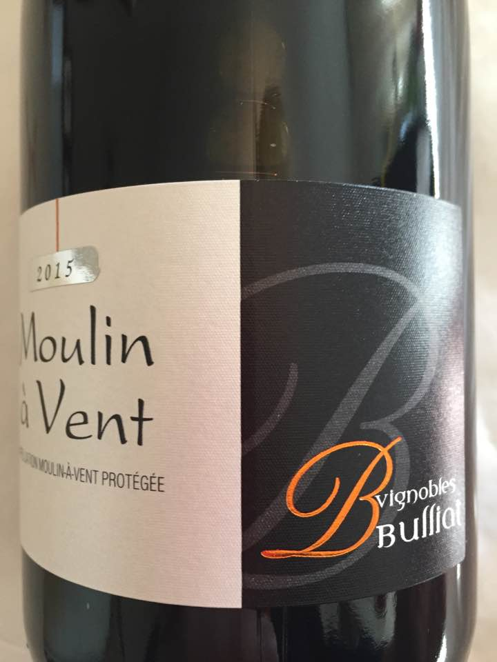 Vignobles Bulliat 2015 – Moulin à Vent