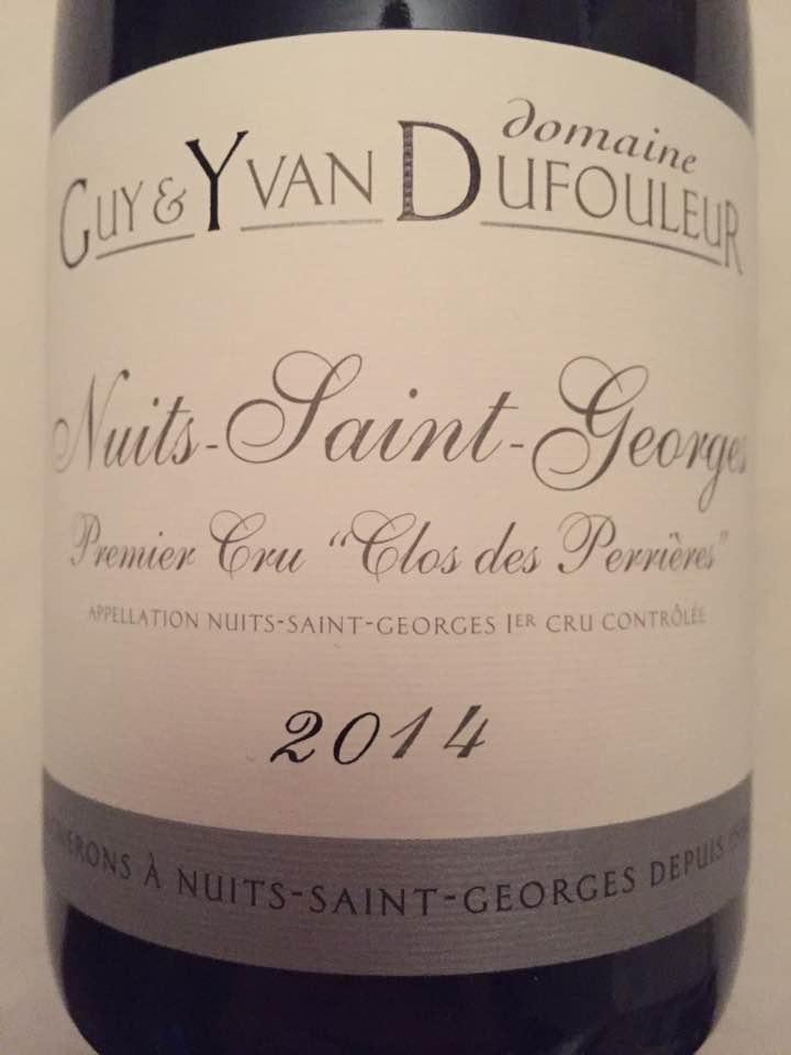 Domaine Guy & Yvan Dufouleur – Clos des Perrières 2014 Premier Cru – Nuits-Saint-Georges
