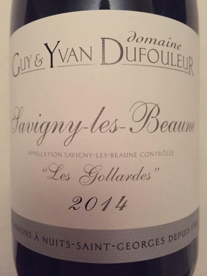 Domaine Guy & Yvan Dufouleur – Les Gollardes 2014 – Savigny-Lès-Beaune