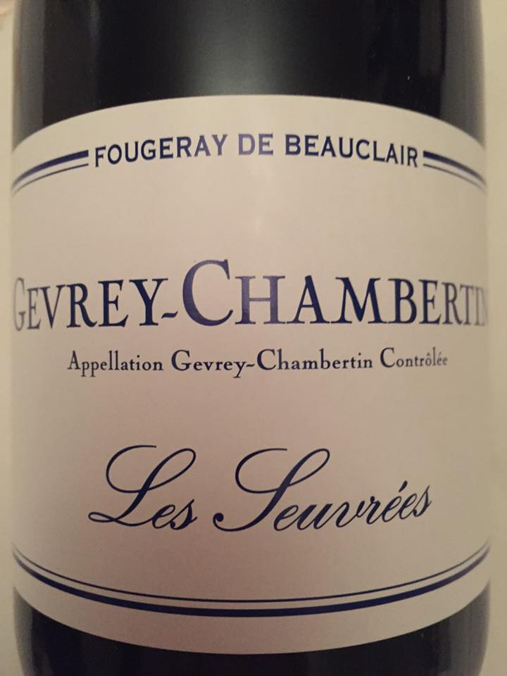 Fougeray de Beauclair – Les Seuvrées 2014 – Gevrey-Chambertin