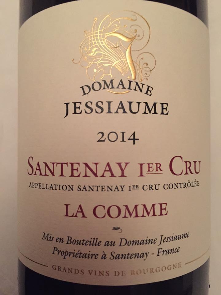 Domaine Jessiaume – La Comme 2014 – Santenay 1er Cru