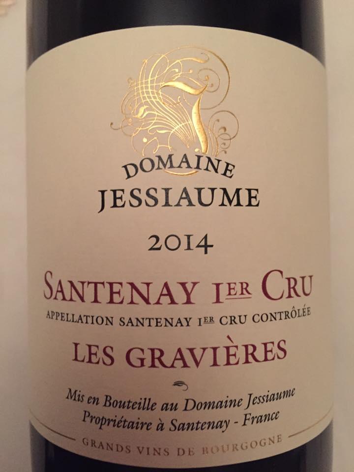 Domaine Jessiaume – Les Gravières 2014 – Santenay 1er Cru