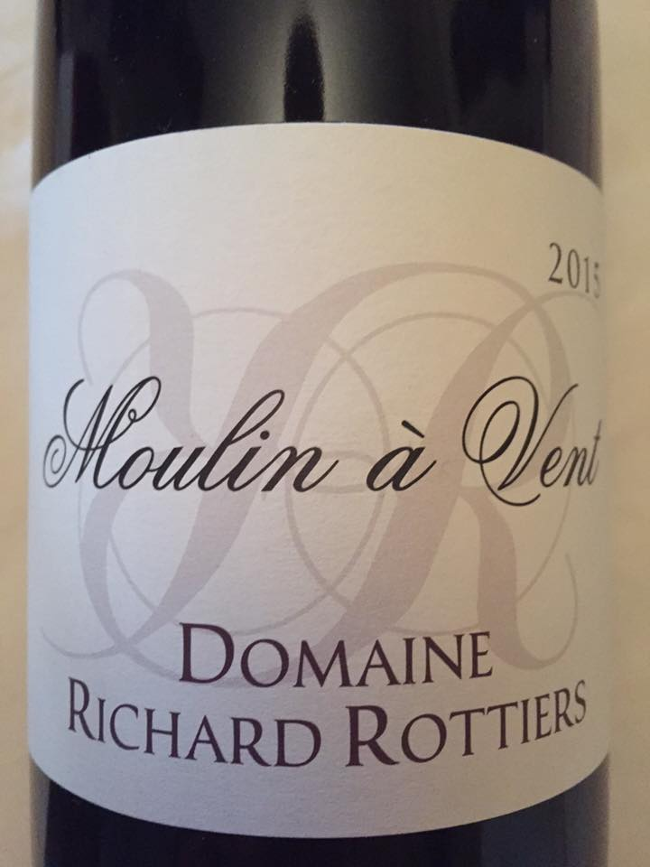 Domaine Richard Rottiers 2015 – Moulin-à-Vent