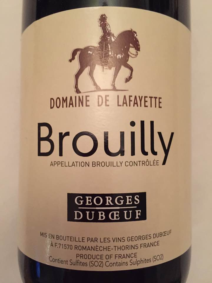 Georges Duboeuf - Domaine de Lafayette 2015 – Brouilly