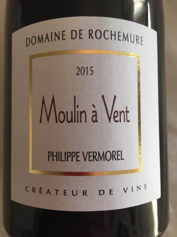 Domaine de Rochemure 2015 – Moulin-à-Vent